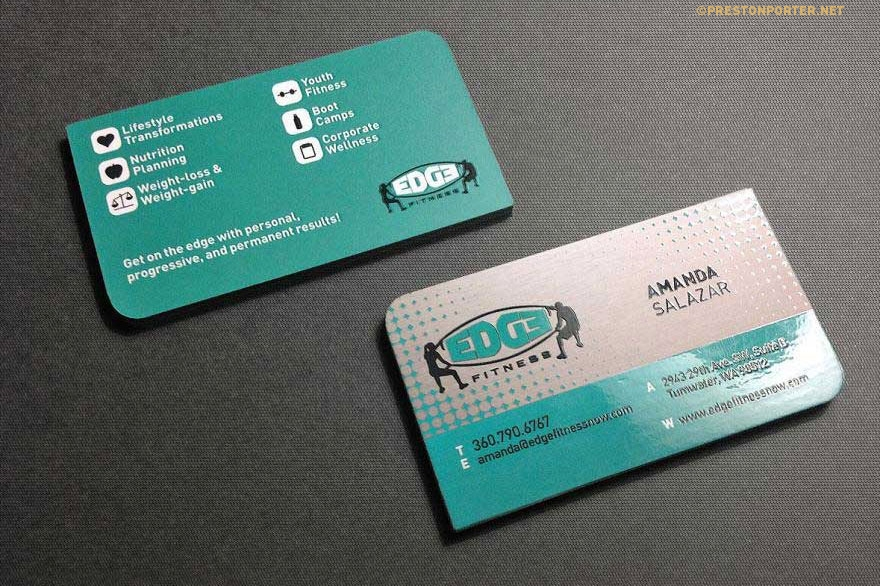 Work preston porter business cards reheart Images